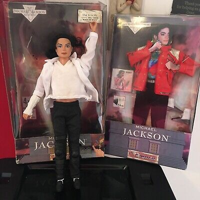 1997 Michael Jackson Singing Black Or White Doll With Beat It Song + Outfit Rare • 76.45£