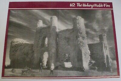 U2 Poster Record Store Promo The Unforgettable Fire 1984 • 80£