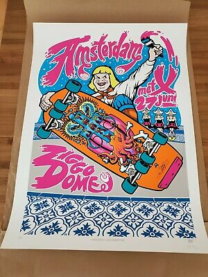 Pearl Jam Poster Print Amsterdam 6/27/12 Ames AP Edition Limited S/N  • 99.25£