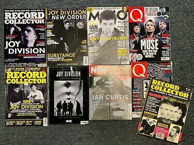 9 Joy Division Magazines - All In Top Condition - Ian Curtis Factory Records • 23.95£