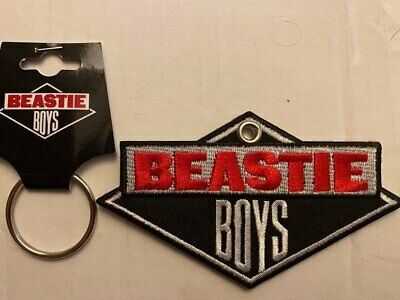 Beastie Boys 'Classic Logo' Embroidered Patch Key Ring *Official Merch* • 5.99£