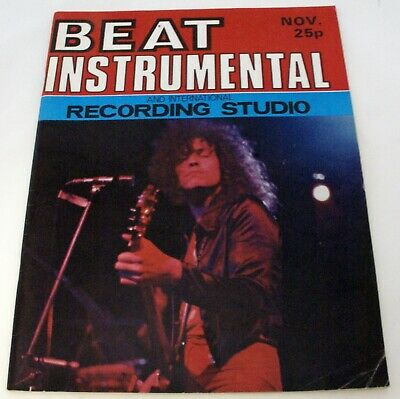 T Rex Marc Bolan Magazine Beat Instrumental No. 103 November 1971 • 20£