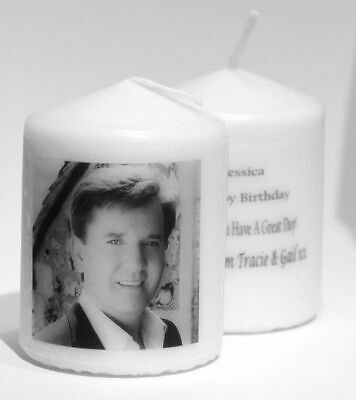 Daniel O'Donnell Photo Birthday Candle Or Other Occasion Gift + Own Message  • 8.99£