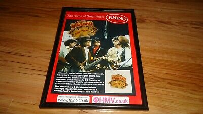 TRAVELING WILBURYS-framed Original Advert • 11.99£