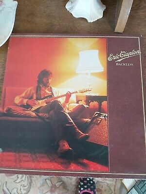 Eric Clapton 1978 Backless Album And Tour Concert Poster  • 7.50£