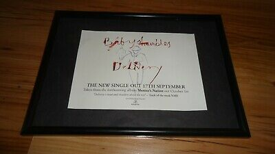 BABYSHAMBLES Delivery-framed Original Advert • 11.99£