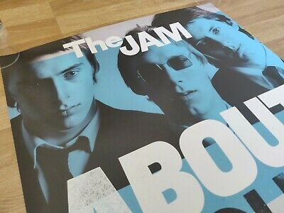 The Jam About The Young Idea Original Poster New Vintage Tour Weller Live Promo  • 49.95£