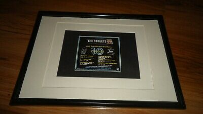 THE STREETS 2005 Tour-framed Original Advert • 11.99£