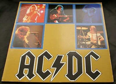 AC DC Programme Vintage Japanese For Those About To Rock Tour 1982 • 30£