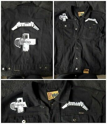 Metallica Master Of Puppets Patch Custom Made Denim Jacket Handmade In Any Size • 69.95£