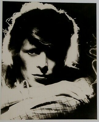 David Bowie Photo B/W 10  X 8  Vintage Metallic Print Young Americans 1975  • 125£