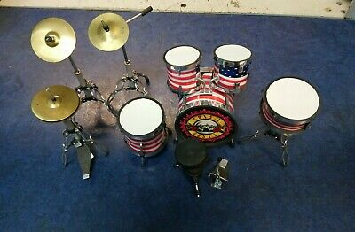 G85 Guns N Roses Miniature Drum Kit - Used • 19.99£