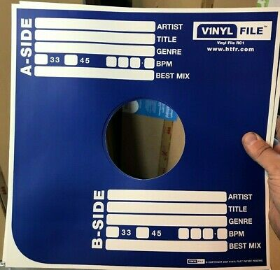 50 X 12  Lp Vinylfile Card Record Sleeves / Covers *new*  Very Cheap ! • 9.95£