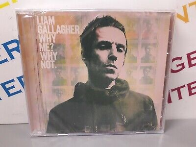 Liam Gallagher Why Me? Why Not. 2019 Music CD - New & Sealed • 3.49£