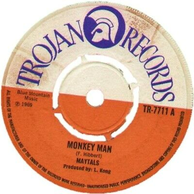 Superb Trojan Records Coaster - Monkey Man • 3£