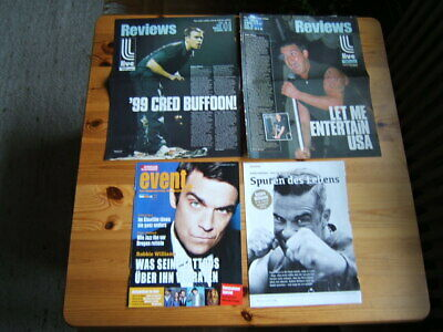 ROBBIE WILLIAMS TAKE THAT 66 Great Rare Clippings/poster Shirtless • 8£