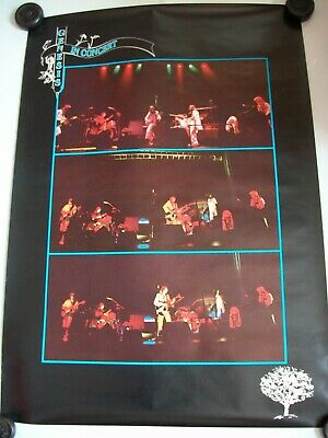 Genesis In Concert 1976 Official Tour Poster Rare Great Original Vintage • 49.95£