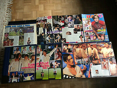 TAKE THAT ROBBIE WILLIAMS  60 Great Rare Clippings • 8£