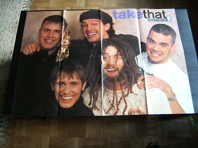 TAKE THAT Great Rare Poster Collection  Plus Two Original Booklet  • 8£