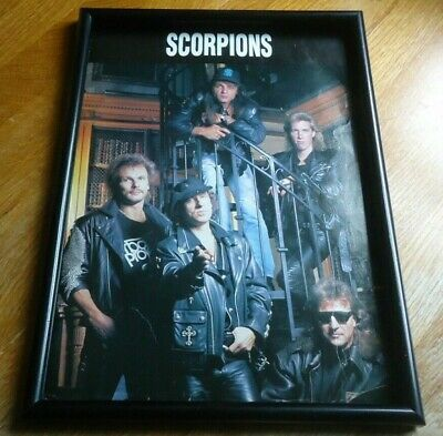 SCORPIONS-framed Picture • 11.99£