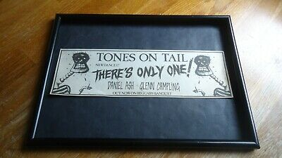TONES ON TAIL There's Only One-framed Original Advert • 11.99£