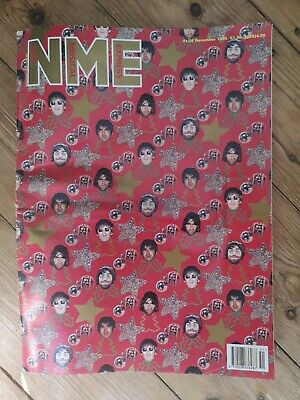 Oasis NME Dec 1996 Cover (Christmas Xmas Wrapping Paper) Magazine Included RARE • 0.99£