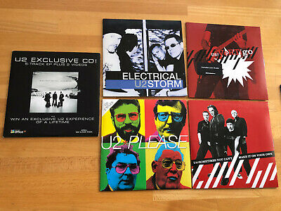 U2 Great Rare CD Collection Paper Edition 5 Differend One  • 8£
