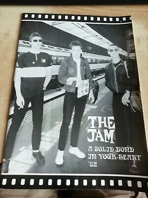 The Jam - 1982 'A Solid Bond In Your Heart' Tour, Official Programme • 15£