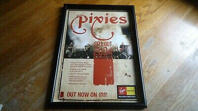PIXIES Sell Out 2004-framed Original Advert • 11.99£