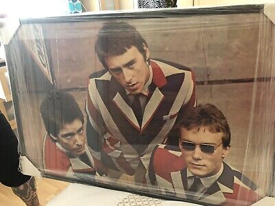 The Jam Paul Weller Framed Original Posters. Collection Only. • 70£