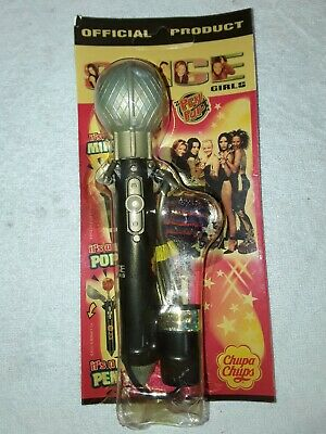 Vintage Spice Girls Microphone & Pen With Original Chupa Chups Lolly • 5.99£