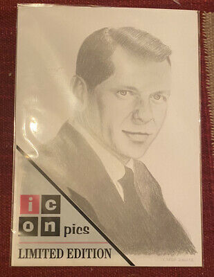 Frank Sinatra Print From Sketch - Csaba Zoller Icon  Pics Limited Edition Rare • 2.99£