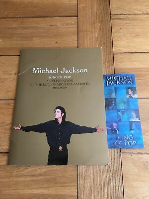 Michael Jackson  THIS IS IT  Ticket And Programme.  • 50£
