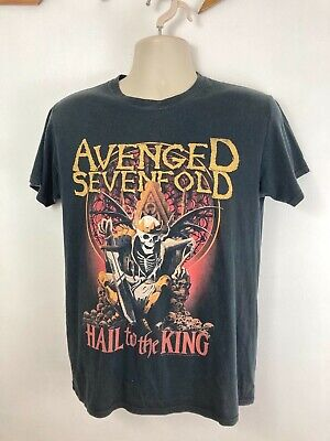 Avenged Sevenfold Band T Shirt. Black. Unisex. Medium. Hail To The King. 2013 • 14.99£