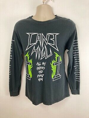 CANE HILL Long Sleeve Band T Shirt. Metal Band T. Medium. Tour T Shirt.  • 16.99£