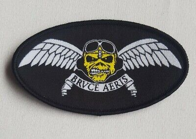 Iron Maiden PATCH. Ed Force One, Bruce Air, Aeris. Aces High Eddie. Sew On NEW • 26£