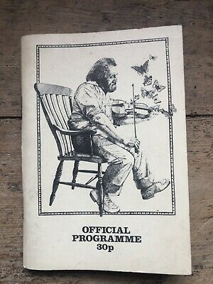 Vintage Cambridge Folk Festival 1977 Programme Booklet • 4.99£