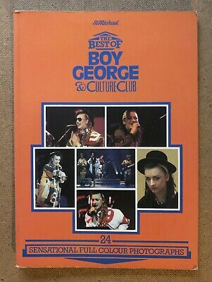 The Best Of Boy George & Culture Club Paperback Annual 1984 Full Colour Photos • 4.80£