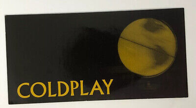 Coldplay Parachutes Promotional Sticker • 3.19£
