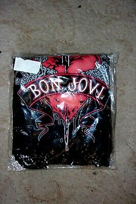 Bon Jovi - Heart & Dagger T-Shirt ; New & Sealed ; Official Merch. Size XL • 16.99£