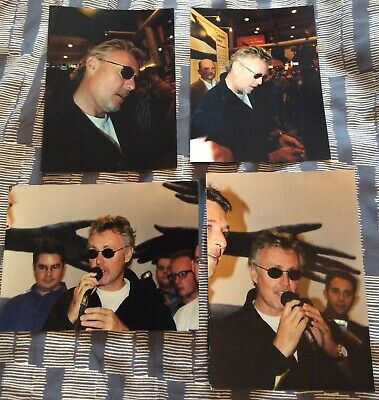 Queen Roger Taylor X 4 Photos 1998 • 10£