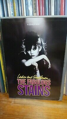 The Fabulous Stains Ultra  Rare New Region 1 Dvd Sex Pistols Clash Professionals • 30£