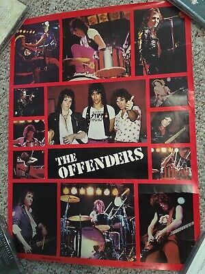 Randy Castillo Original Promo Poster And LP For The Offenders Band - Pre Ozzy . • 55.87£
