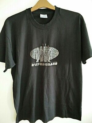 Vintage Rare Promotional Supergrass XL T Shirt From 1995 • 40£