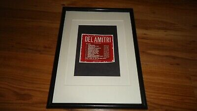 DEL AMITRI 2002 Tour-framed Original Advert • 11.99£