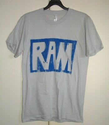 PAUL McCARTNEY -  RAM - OFFICIAL - T-SHIRT - NEW -  RARE - SIZE S/M/L • 15£