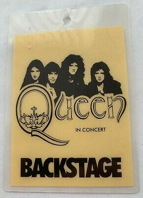 Queen Pass Original Backstage 1977 • 400£