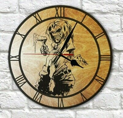 Iron Maiden Killers Engraved On Wall Clock  • 13.50£