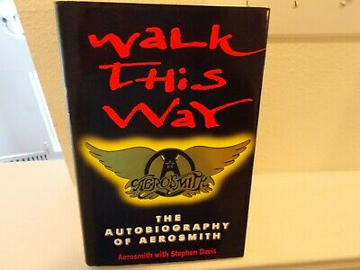 Aerosmith Band Autographed Walk This Way Book With Ad • 200.72£