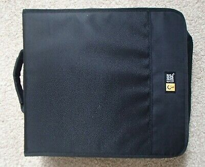 Case Logic Cd Case Black Holds 200 Discs Very Good Condition • 2.40£